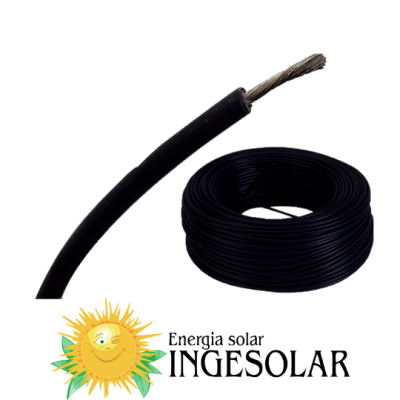 Cable solar negro 4 mm2